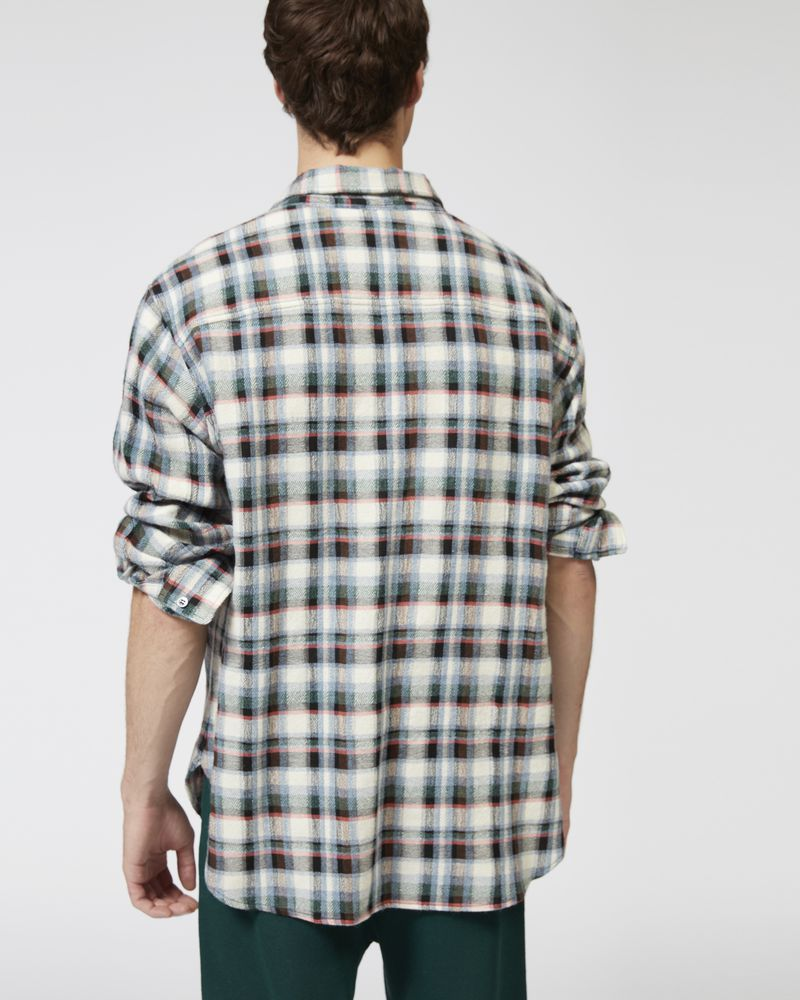RIKERS checked overshirt ISABEL MARANT