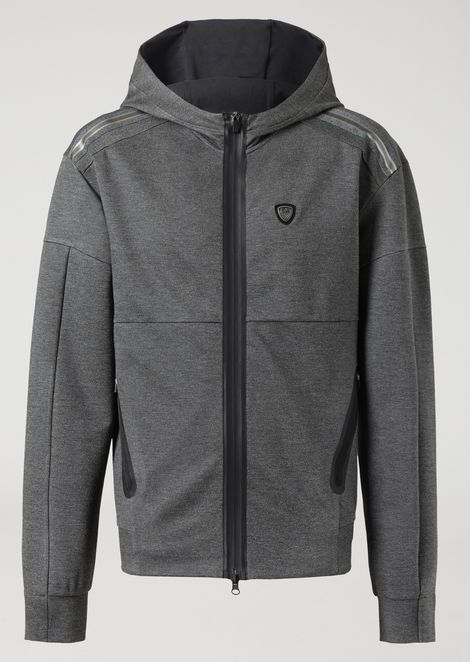 Train Lux hooded jacket