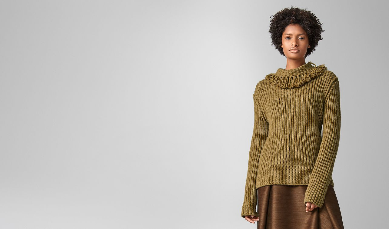 sweater in wool  landing