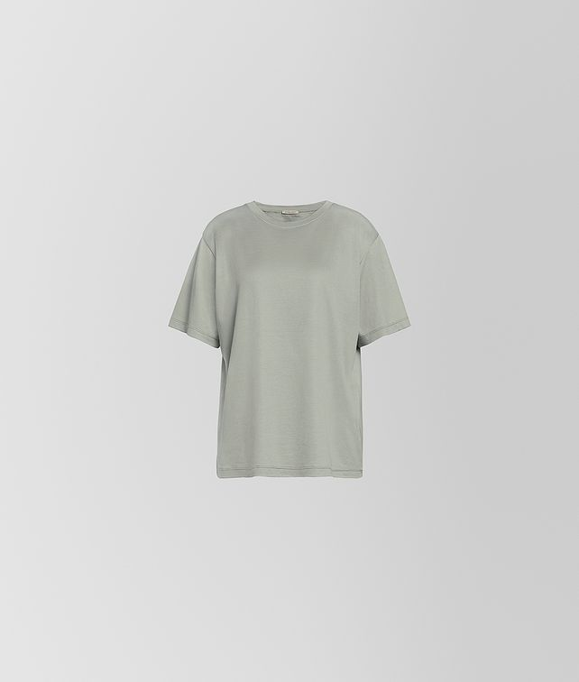 BOTTEGA VENETA T-SHIRT IN SILK COTTON Knitwear or Top or Shirt [*** pickupInStoreShipping_info ***] fp