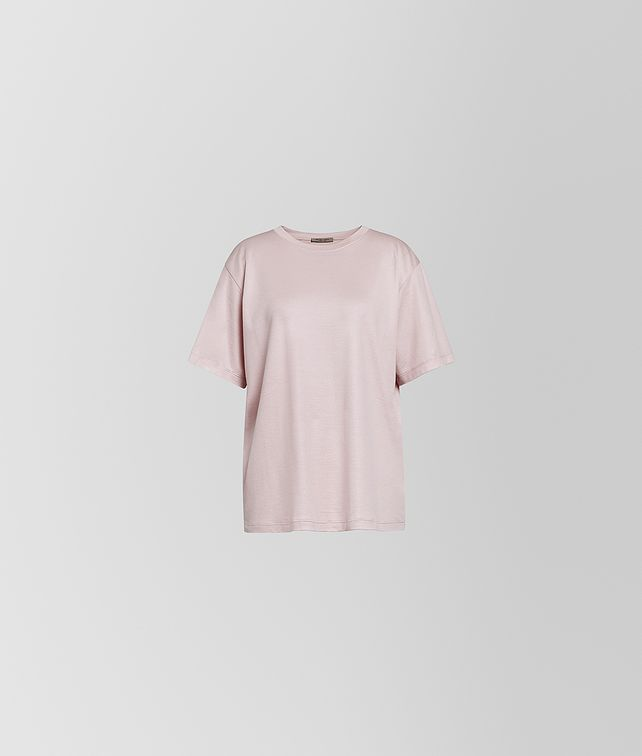 BOTTEGA VENETA T-SHIRT IN SILK COTTON Shirt and T-Shirt Woman fp