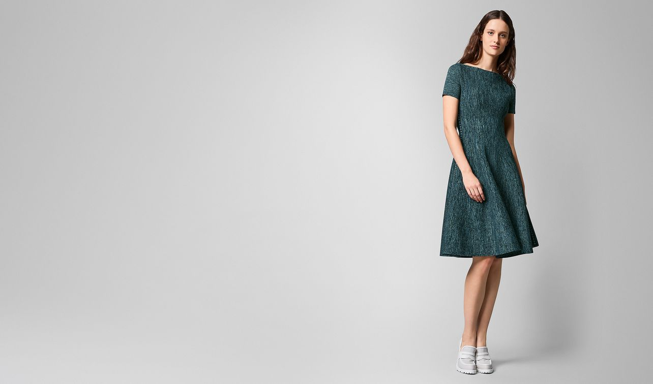 dress in stretch viscose  landing