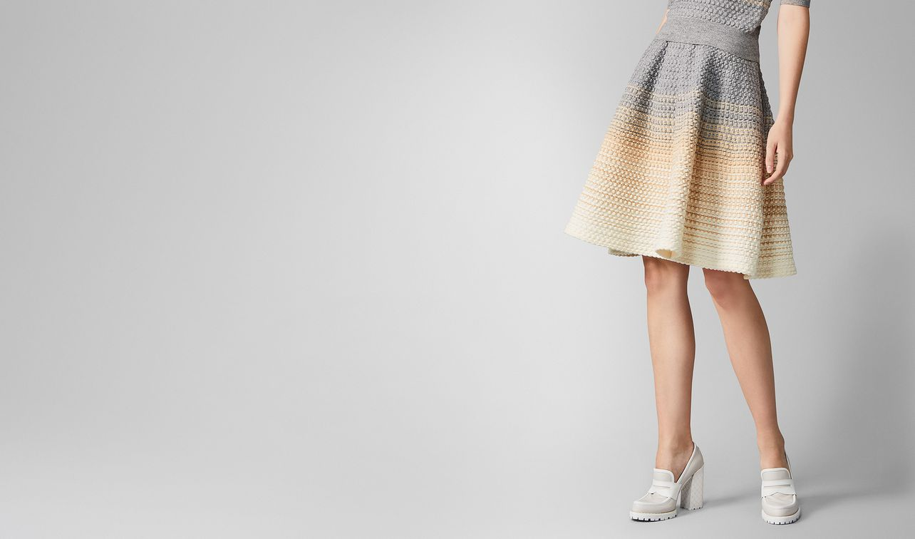 skirt in wool  landing