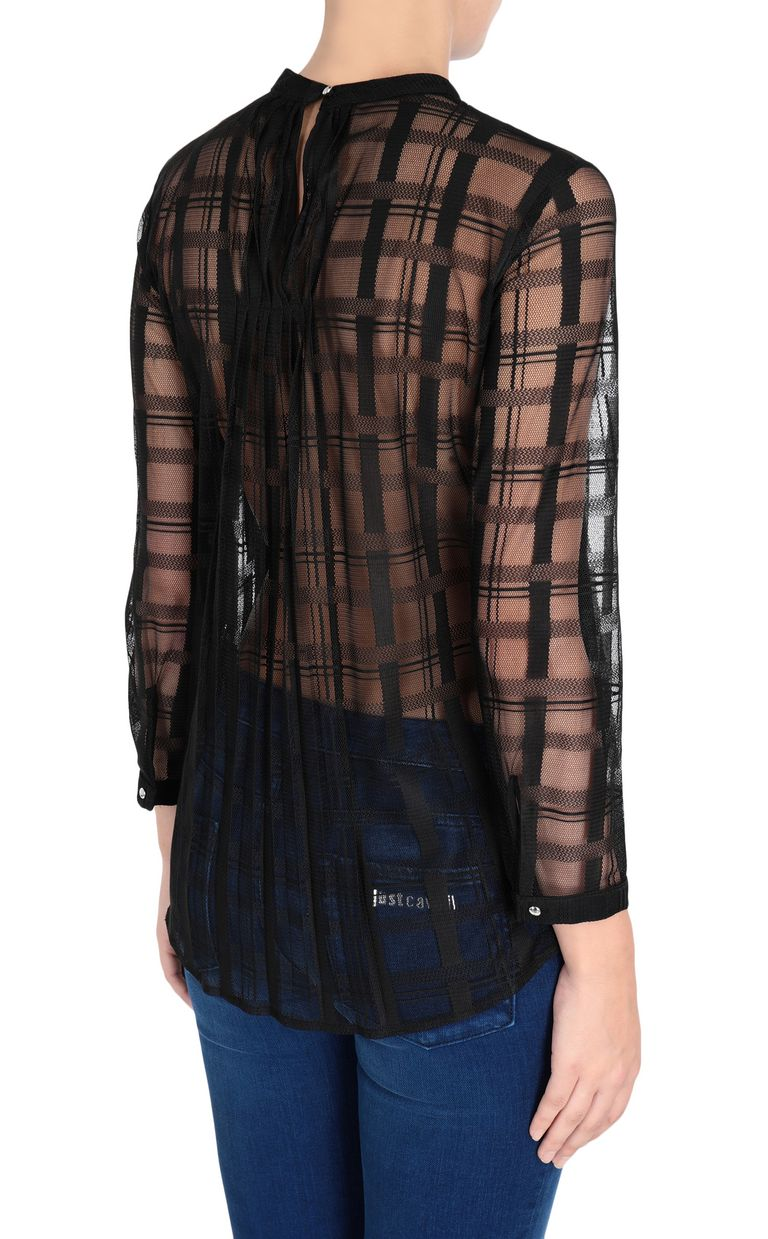 JUST CAVALLI Geometric-effect top Top Woman d
