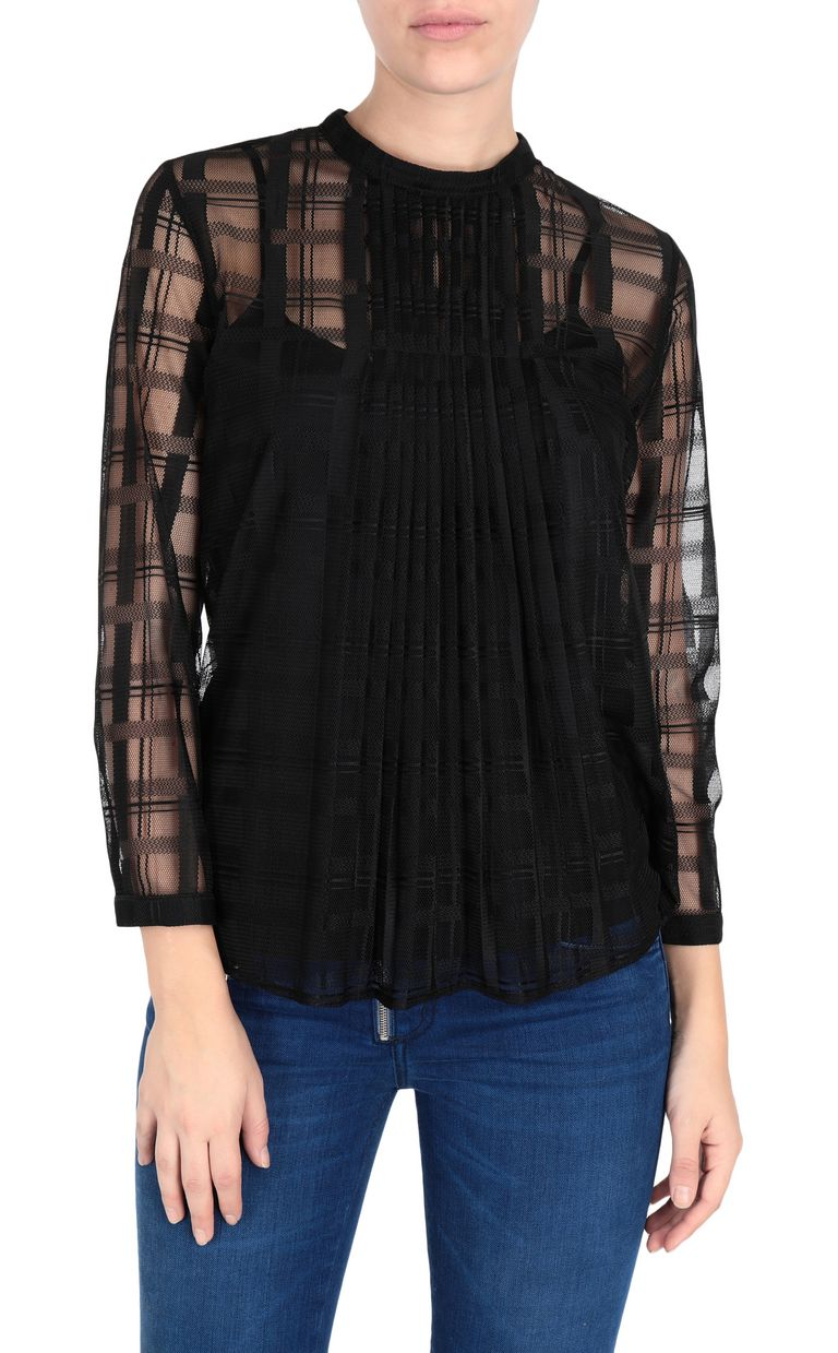 JUST CAVALLI Geometric-effect top Top Woman f