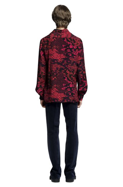 MISSONI Men's shirts Red Man - Front