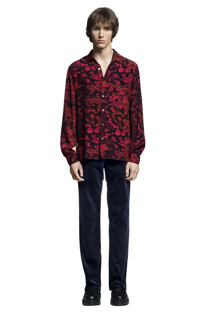 MISSONI Men's shirts Red Man - Back