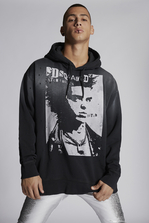 DSQUARED2 Dean Vicious Hooded Sweatshirt Sweatshirt Man