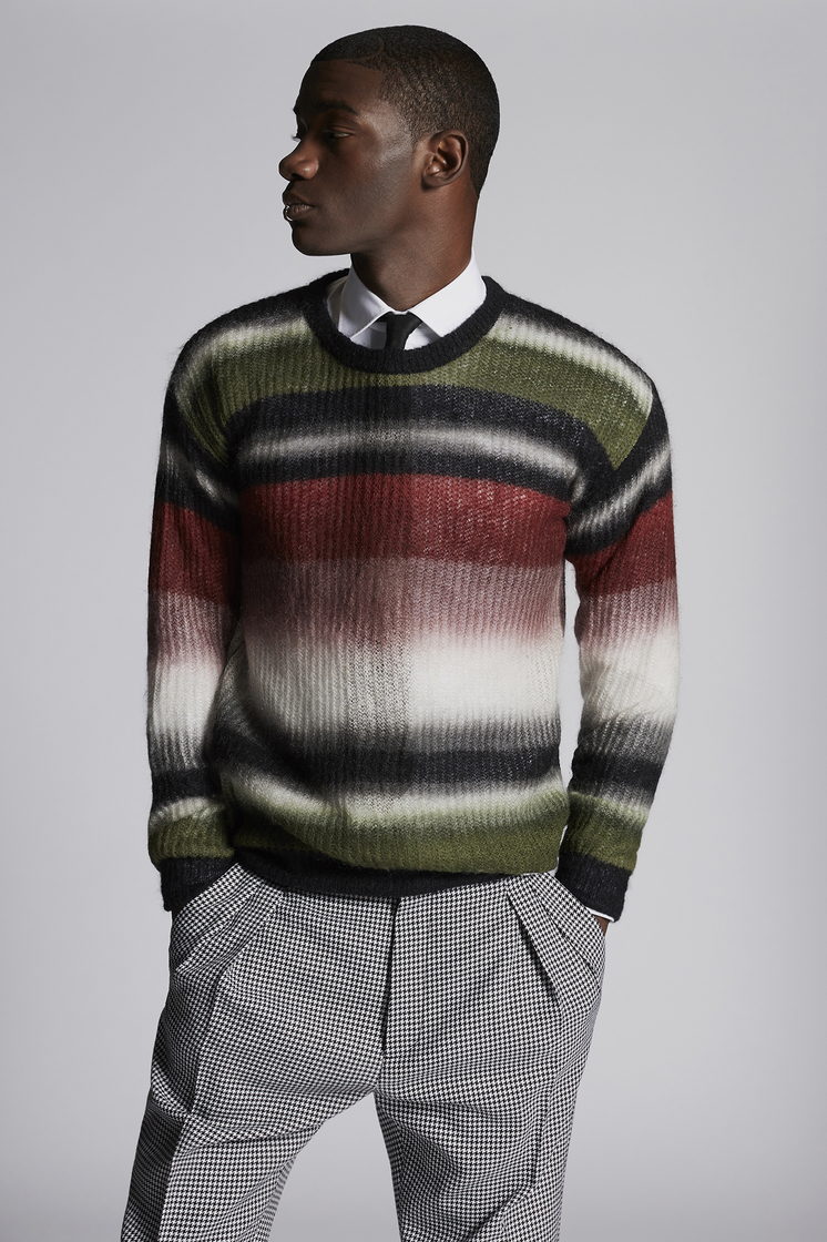 DSQUARED2 Mohair Pullover Pullover Man