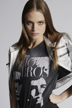 DSQUARED2 Vicious Bros T-Shirt 短袖T恤 女士