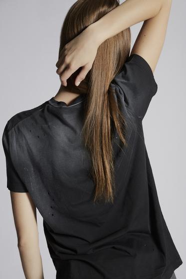 DSQUARED2 短袖T恤 女士 S75GC0995S21600900 b