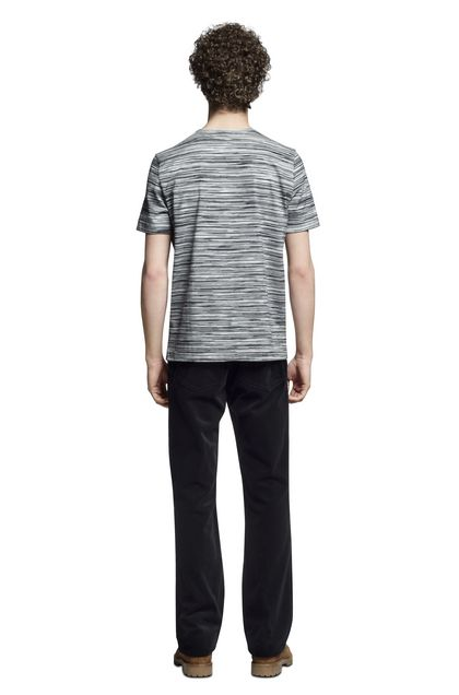 MISSONI Men's T-Shirts Black Man - Front