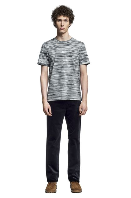 MISSONI Men's T-Shirts Black Man - Back