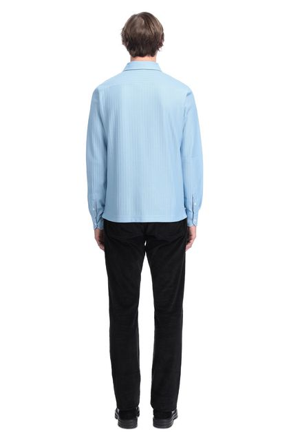 MISSONI Men's shirts Pastel blue Man - Front
