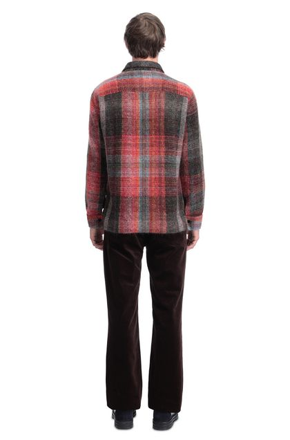 MISSONI Men's shirts Brick red Man - Front