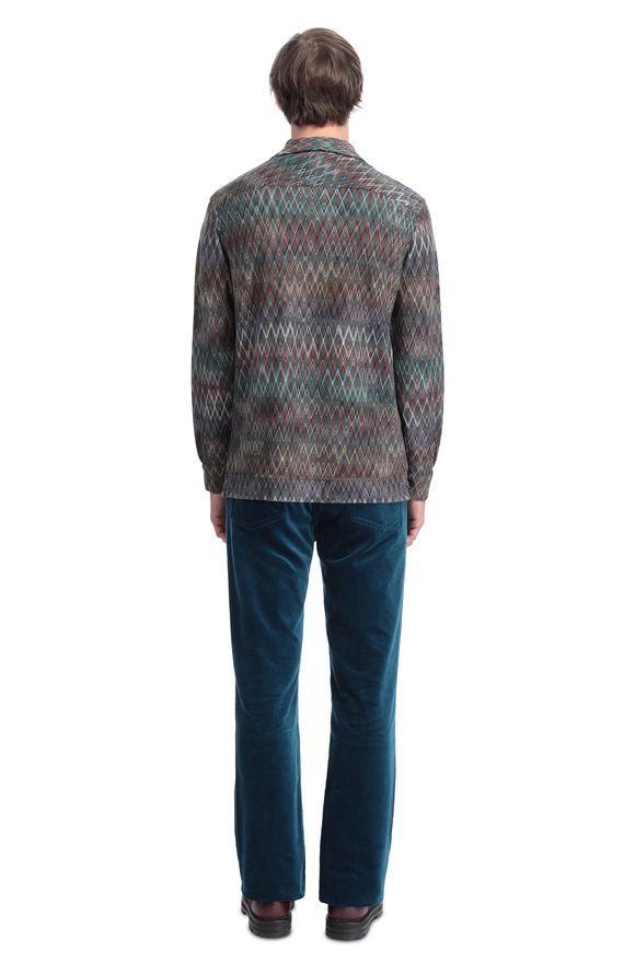MISSONI Camicie uomo Uomo, Vista dal retro
