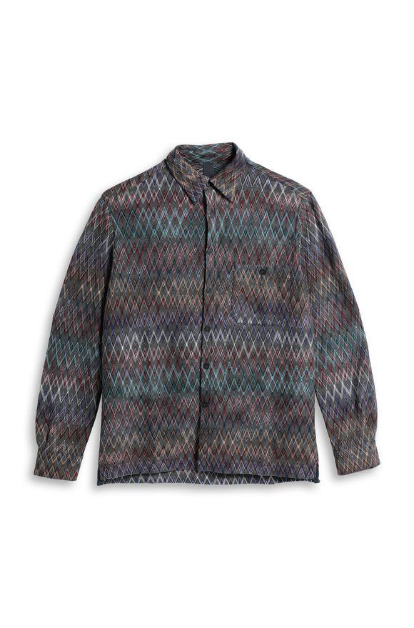 MISSONI Мужская рубашка Для Мужчин, Вид без модели