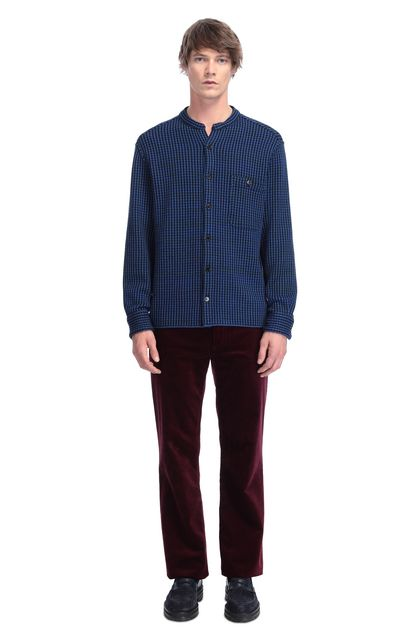 MISSONI Men's shirts Bright blue Man - Back