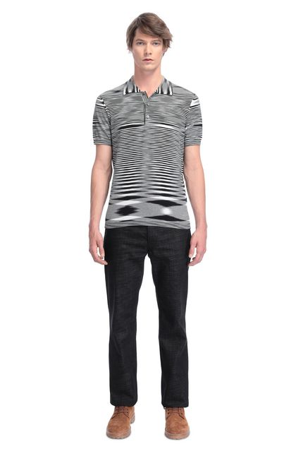 MISSONI Men's polo Black Man - Back