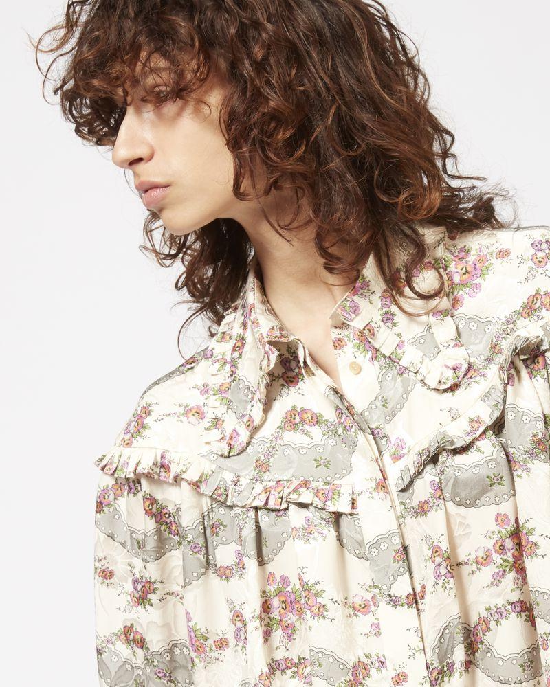 JANELLE printed shirt ISABEL MARANT