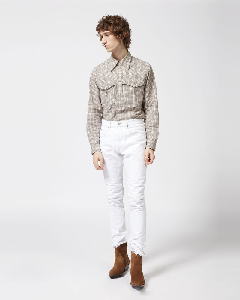 VICSON checked shirt ISABEL MARANT