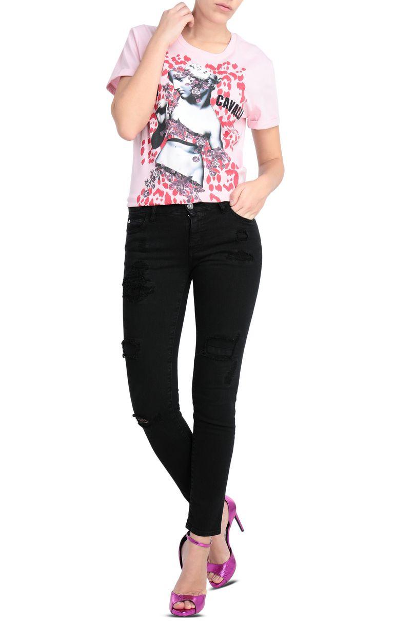 JUST CAVALLI T-shirt with Venus print design Short sleeve t-shirt [*** pickupInStoreShipping_info ***] d