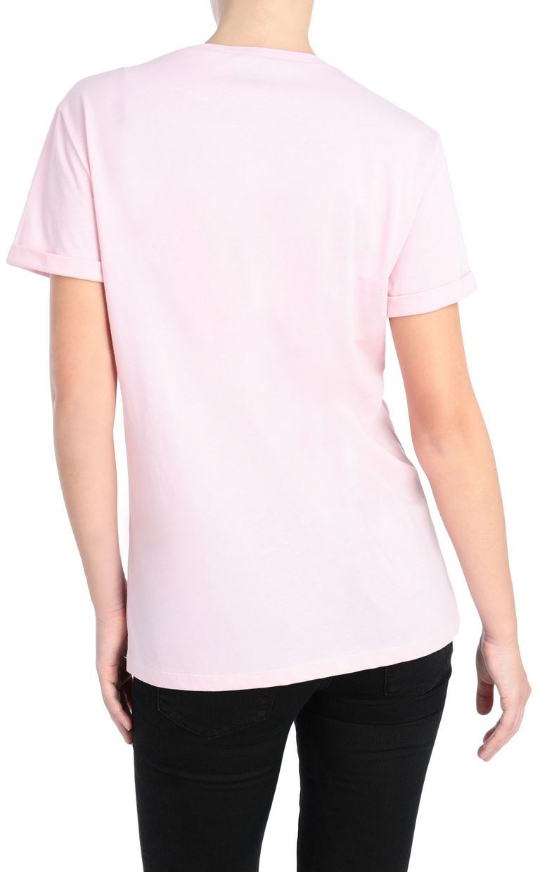 JUST CAVALLI T-shirt with Venus print design Short sleeve t-shirt Woman r