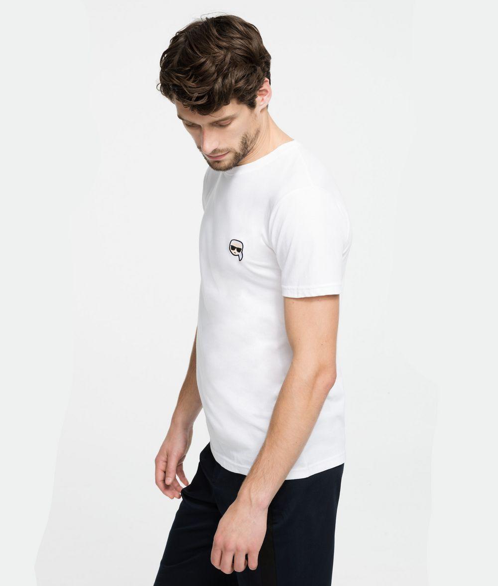KARL LAGERFELD K/Ikonik Patch T-Shirt T-shirt Man d