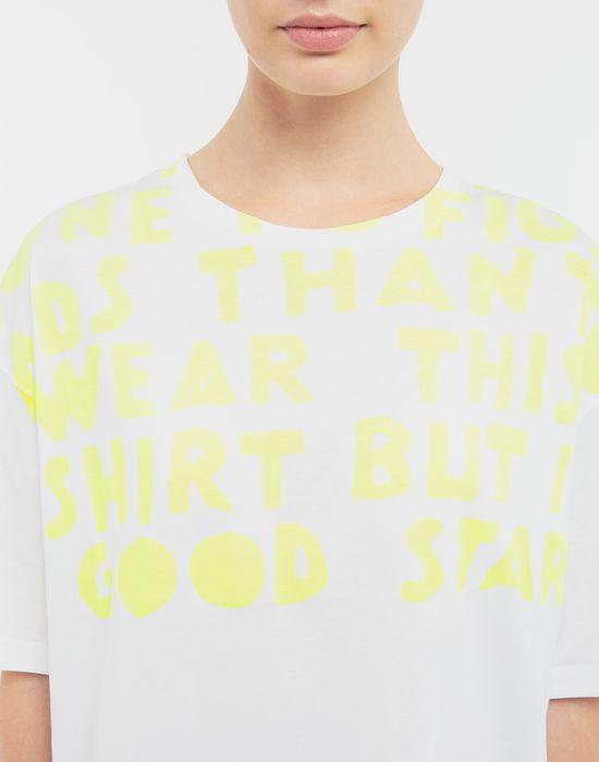 MAISON MARGIELA AIDS Charity-print jersey T-shirt Short sleeve t-shirt [*** pickupInStoreShipping_info ***] b