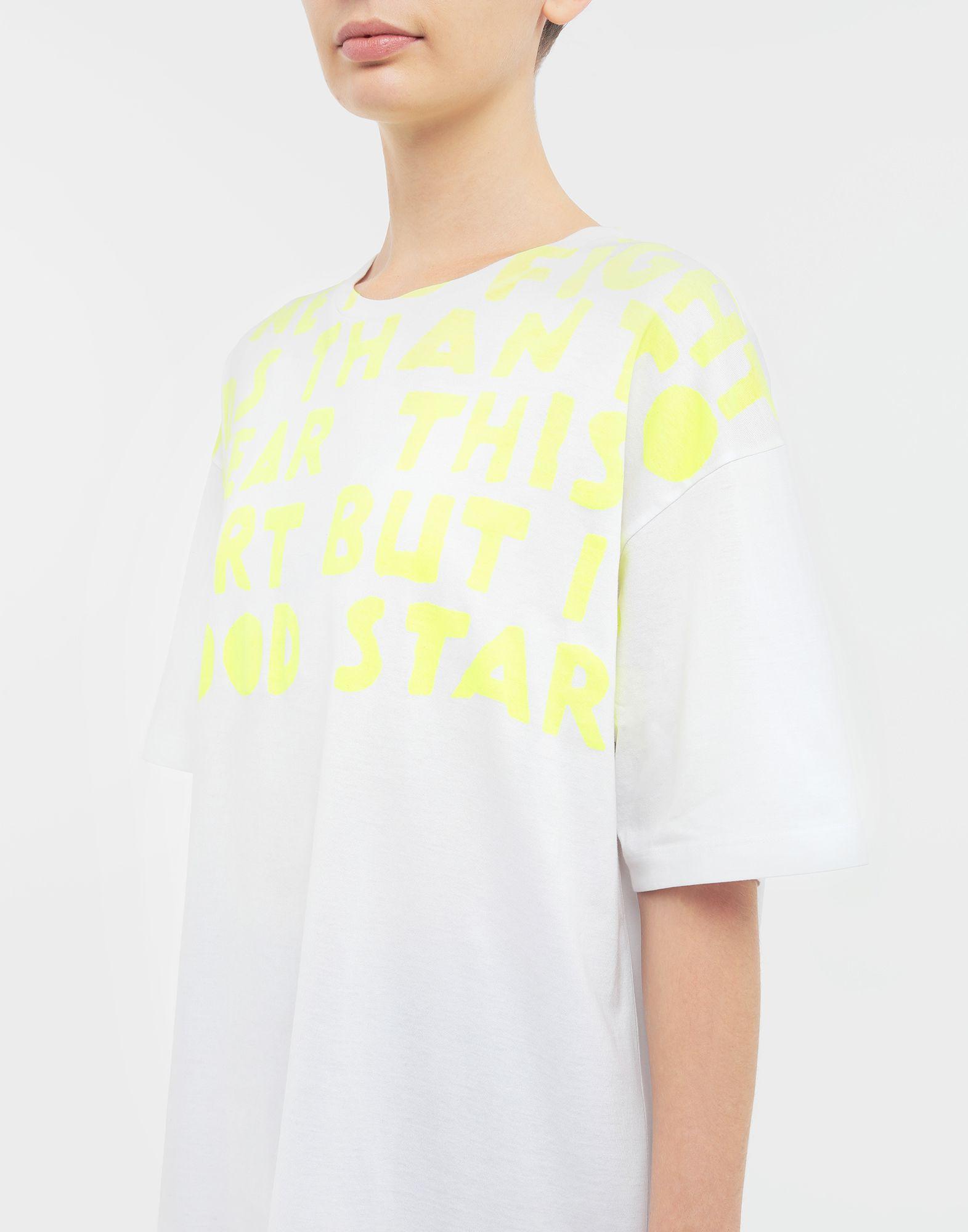 MAISON MARGIELA AIDS Charity-print jersey T-shirt Short sleeve t-shirt Woman a