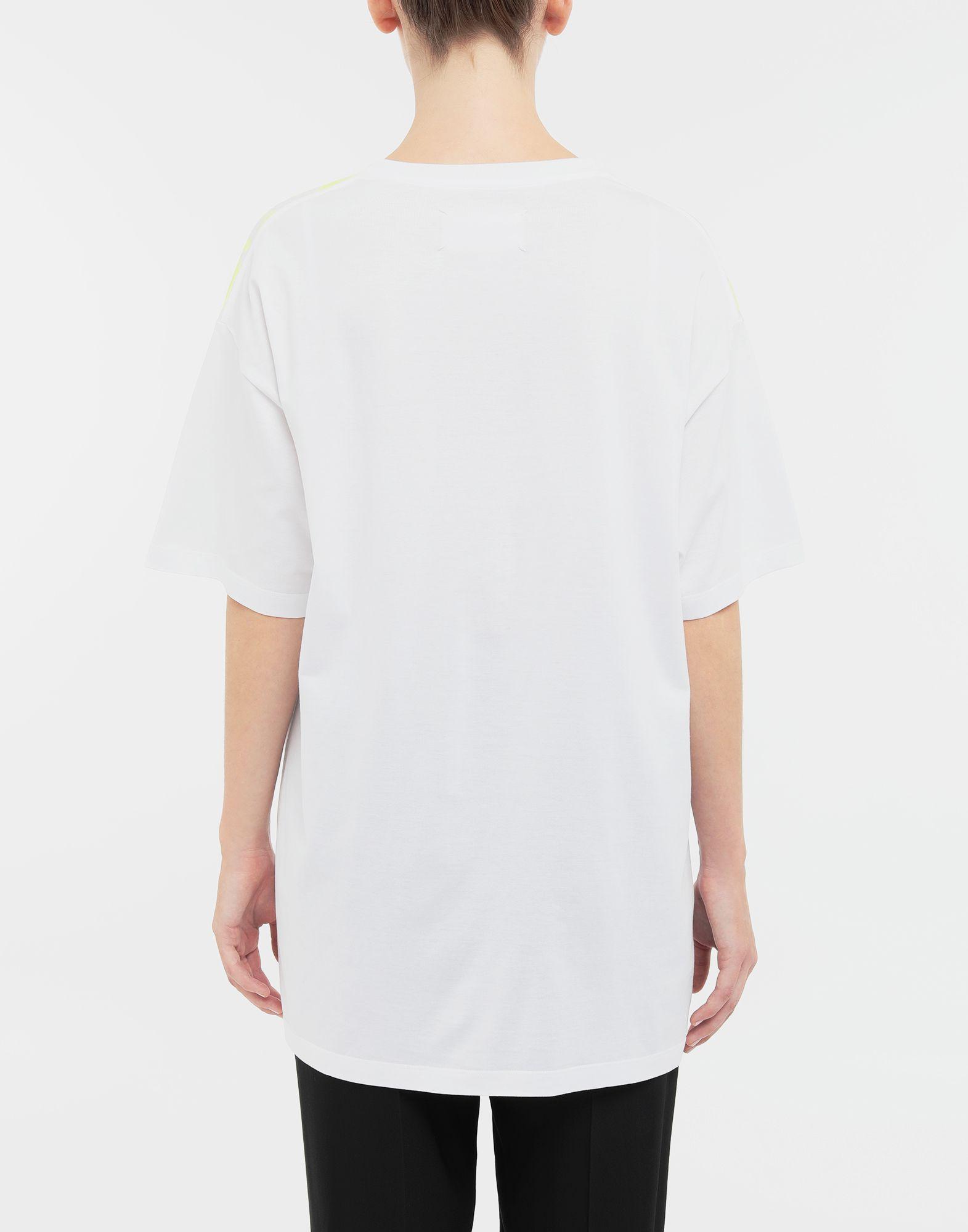 MAISON MARGIELA AIDS Charity-print jersey T-shirt Short sleeve t-shirt Woman e