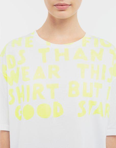 MAISON MARGIELA AIDS Charity-print jersey T-shirt Short sleeve t-shirt Woman b