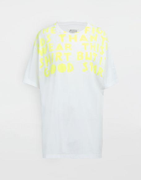 MAISON MARGIELA AIDS Charity-print jersey T-shirt Short sleeve t-shirt Woman f