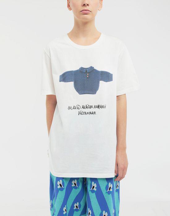 MM6 MAISON MARGIELA Kidswear print T-shirt Short sleeve t-shirt [*** pickupInStoreShipping_info ***] r