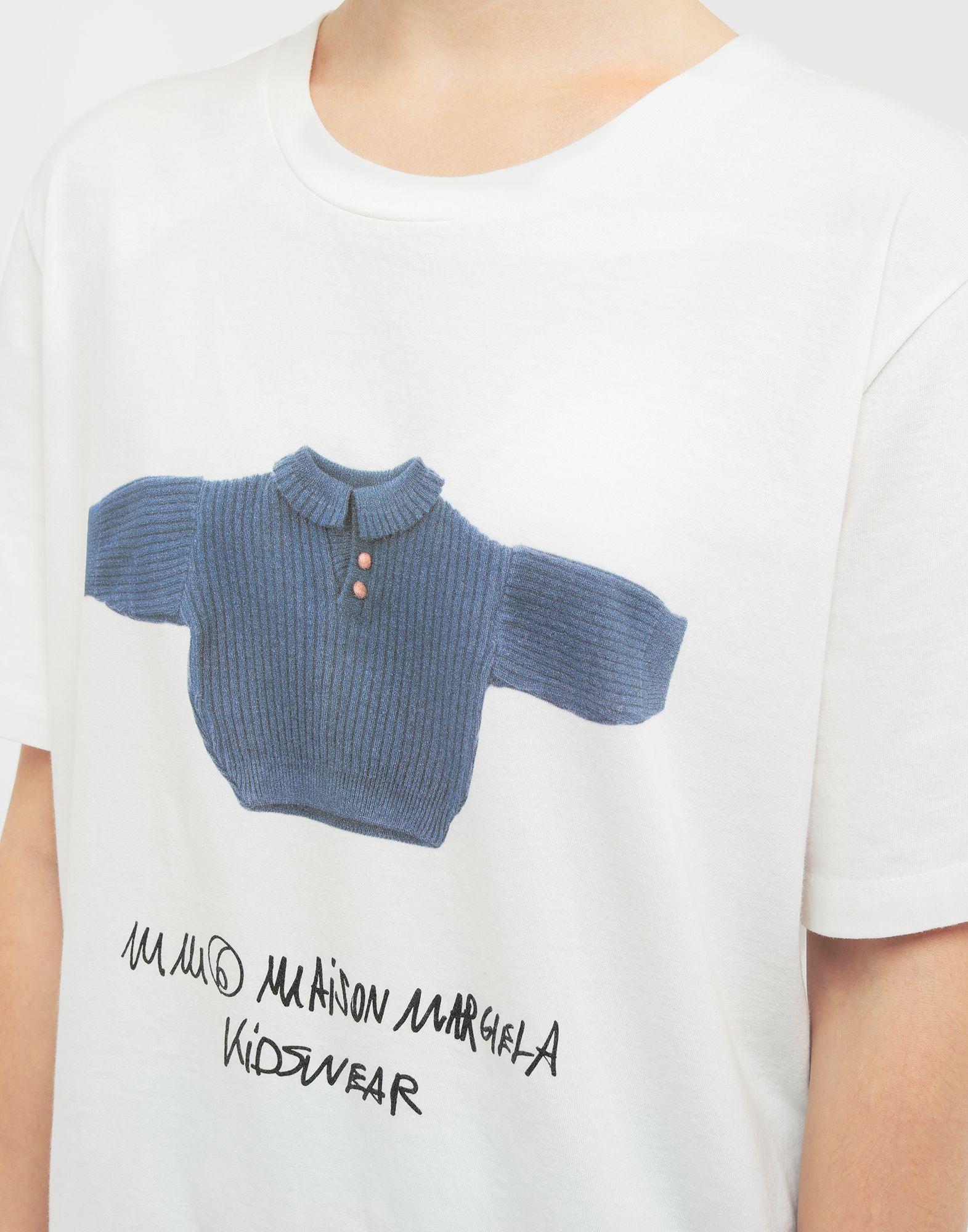 MM6 MAISON MARGIELA Kidswear print T-shirt Short sleeve t-shirt Woman a