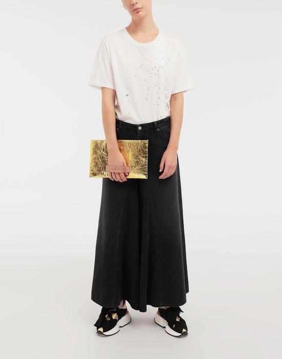 MM6 MAISON MARGIELA Connect-the-dots print T-shirt Short sleeve t-shirt [*** pickupInStoreShipping_info ***] d