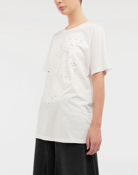 MM6 MAISON MARGIELA Connect-the-dots print T-shirt Short sleeve t-shirt Woman r