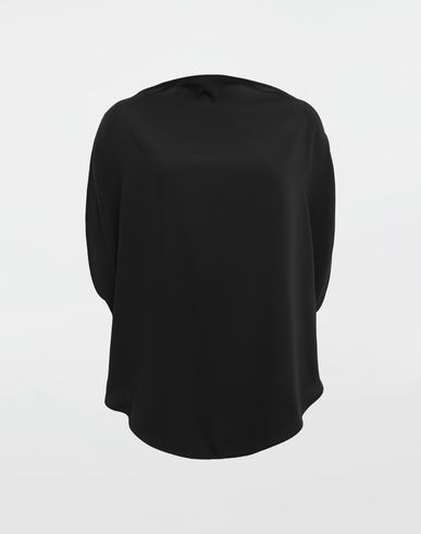 MM6 MAISON MARGIELA Top [*** pickupInStoreShipping_info ***] Draped circle top f
