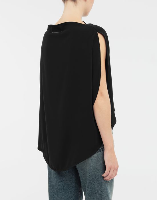 MM6 MAISON MARGIELA Draped circle top Top [*** pickupInStoreShipping_info ***] e