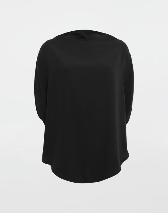 MM6 MAISON MARGIELA Draped circle top Top [*** pickupInStoreShipping_info ***] f