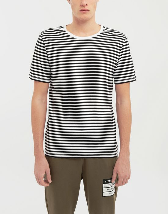 MAISON MARGIELA 3-pack Stereotype striped T-shirts Short sleeve t-shirt [*** pickupInStoreShippingNotGuaranteed_info ***] b