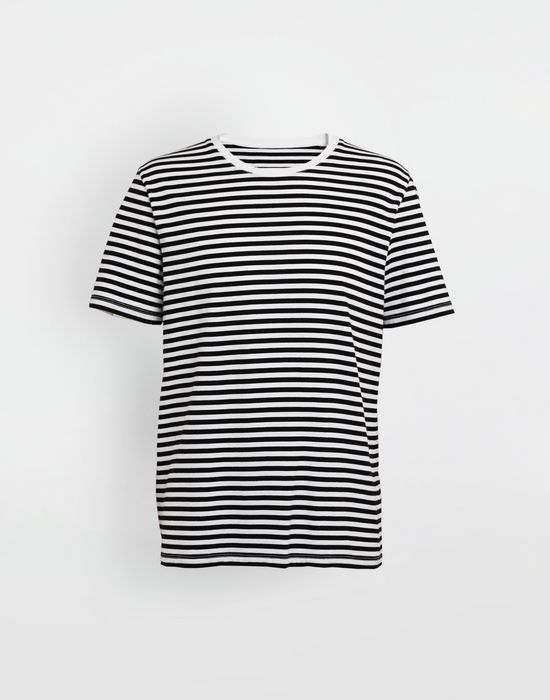 MAISON MARGIELA 3-pack Stereotype striped T-shirts Short sleeve t-shirt [*** pickupInStoreShippingNotGuaranteed_info ***] f