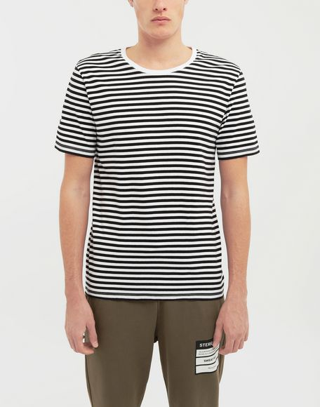 MAISON MARGIELA 3-pack Stereotype striped T-shirts Short sleeve t-shirt Man b
