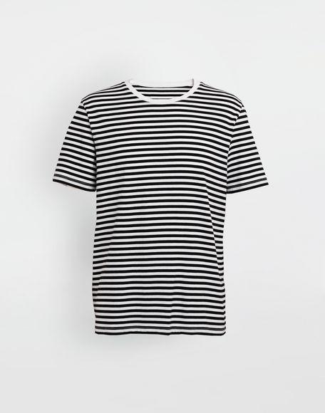 MAISON MARGIELA 3-pack Stereotype striped T-shirts Short sleeve t-shirt Man f