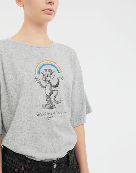 MM6 MAISON MARGIELA Rainbowmaker print T-shirt Short sleeve t-shirt [*** pickupInStoreShipping_info ***] b