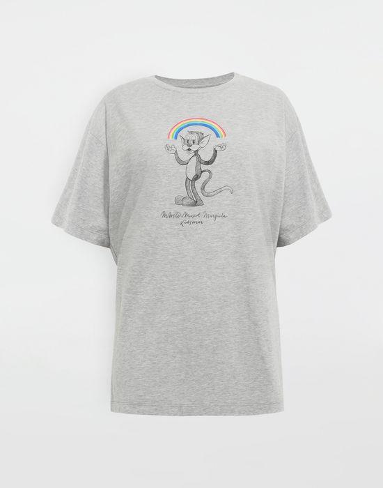 MM6 MAISON MARGIELA Rainbowmaker print T-shirt Short sleeve t-shirt [*** pickupInStoreShipping_info ***] f