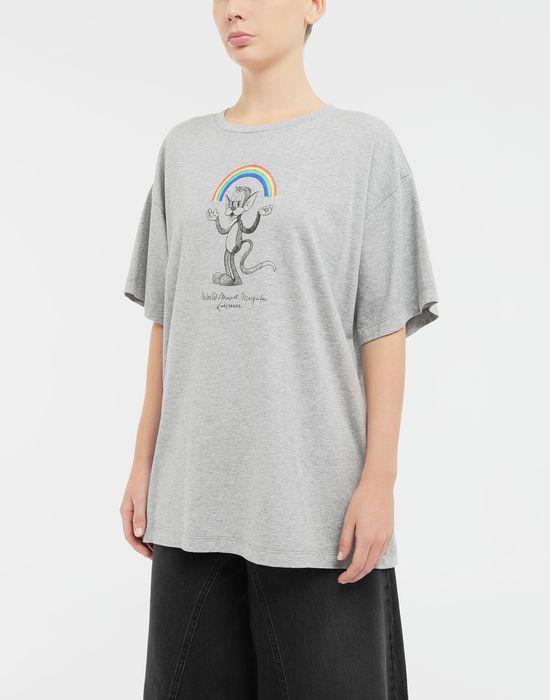 MM6 MAISON MARGIELA Rainbowmaker print T-shirt Short sleeve t-shirt [*** pickupInStoreShipping_info ***] r