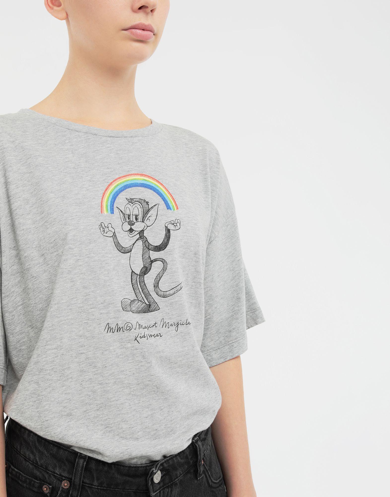 MM6 MAISON MARGIELA Rainbowmaker print T-shirt Short sleeve t-shirt Woman b
