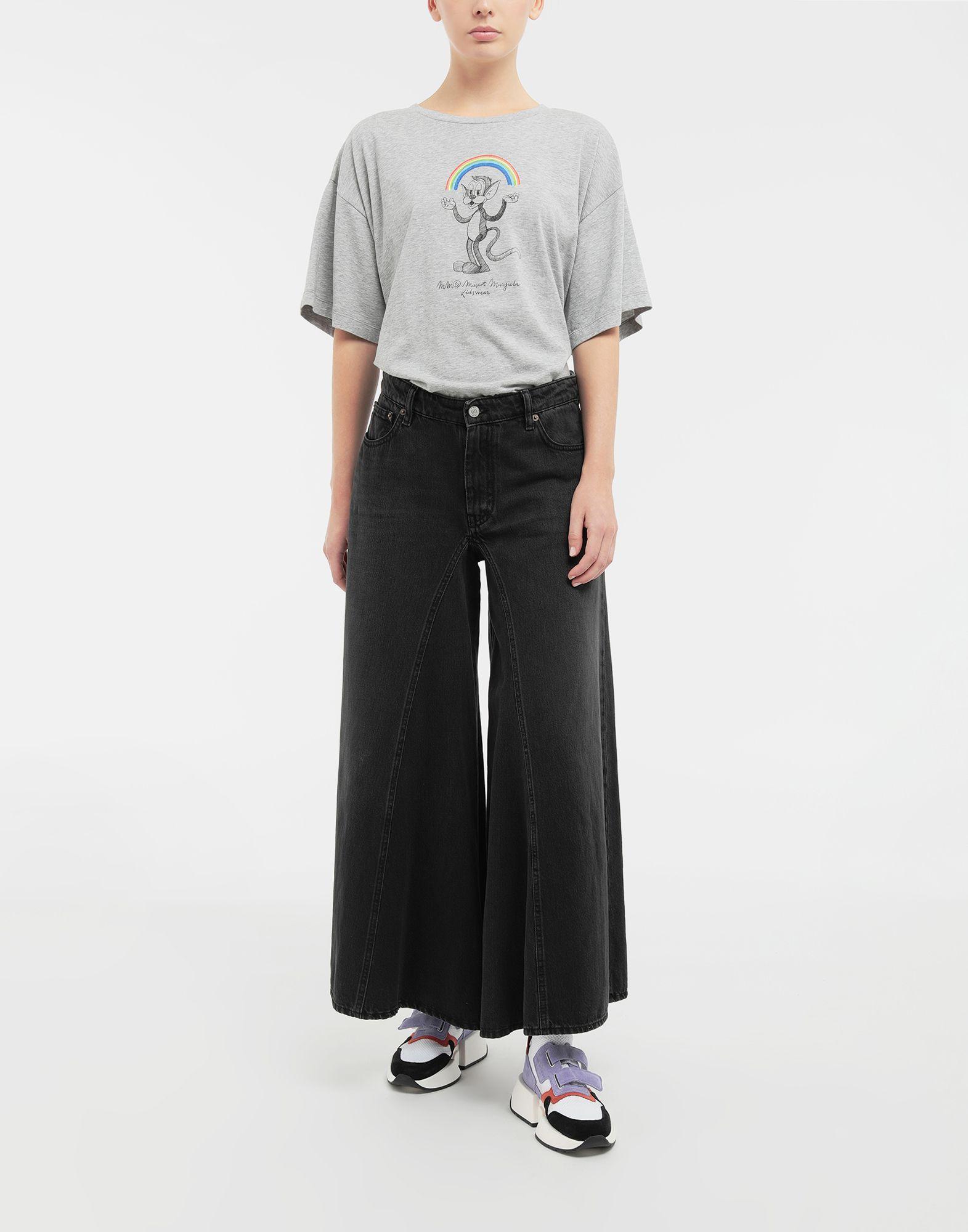 MM6 MAISON MARGIELA Rainbowmaker print T-shirt Short sleeve t-shirt Woman d