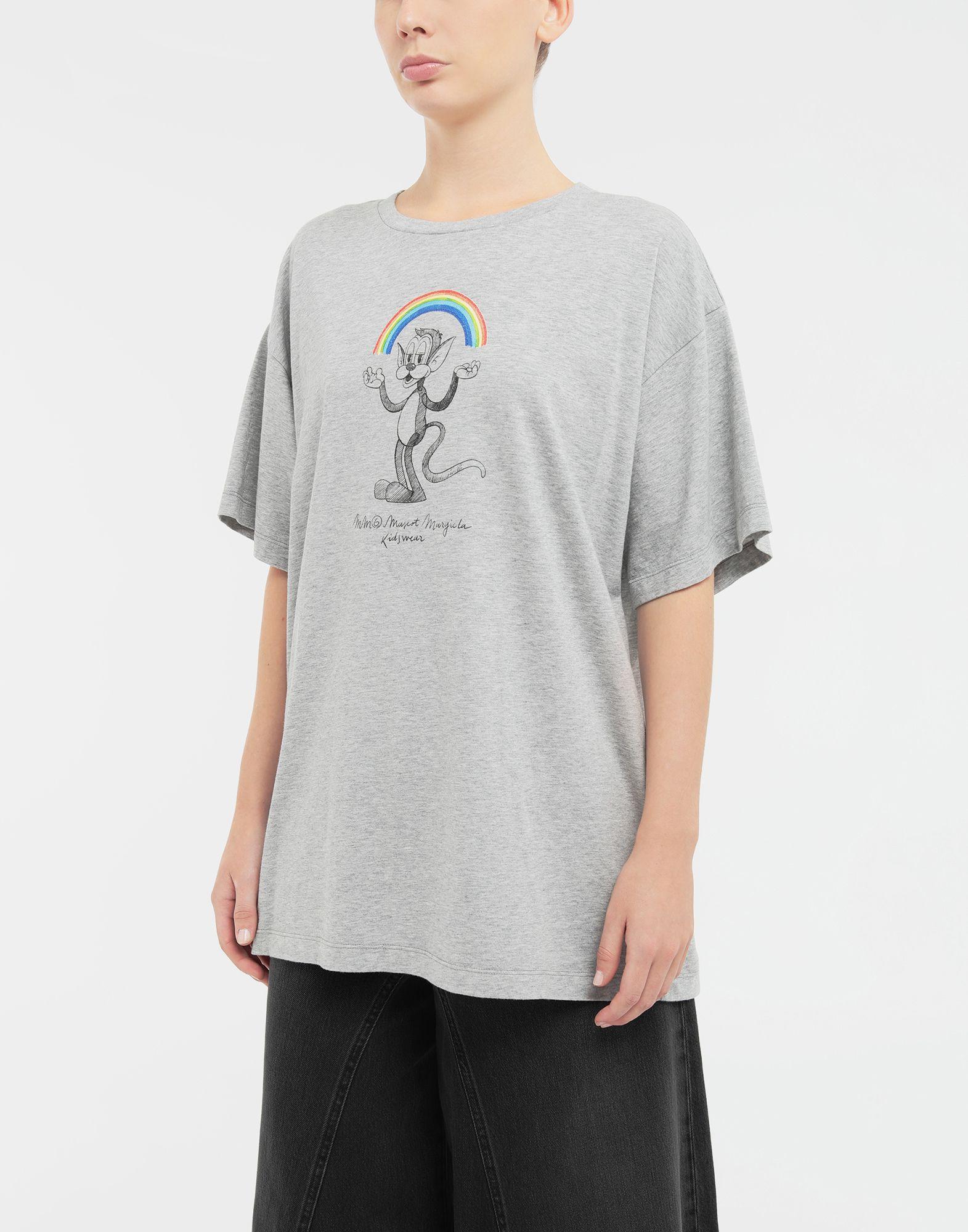 MM6 MAISON MARGIELA Rainbowmaker print T-shirt Short sleeve t-shirt Woman r